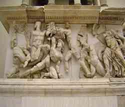 Museo di Pergamo  - Battaglia dei giganti