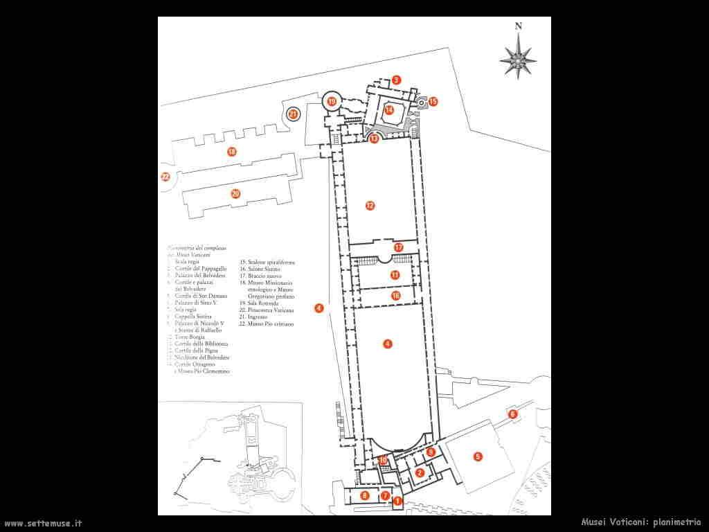 Musei vaticani e opere d 39 arte for Pianta dell appartamento di 600 piedi quadrati