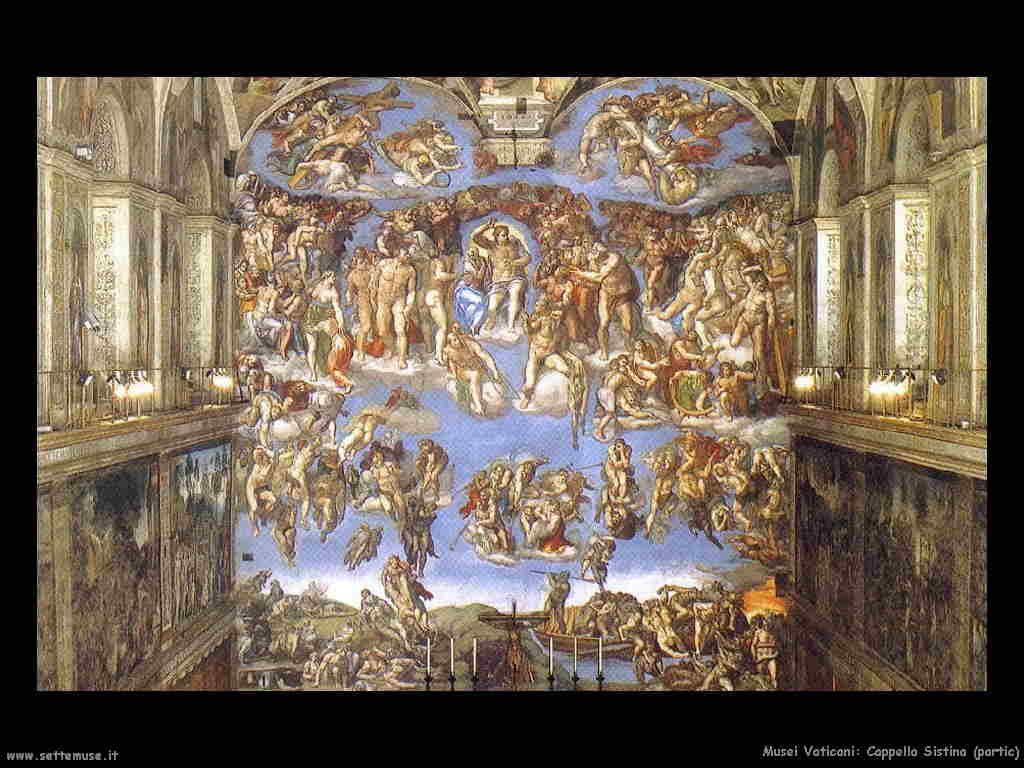 Musei vaticani e opere d 39 arte for Decorazione quattrocentesca della cappella sistina