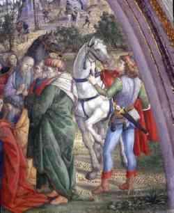 Musei Vaticani - Pinturicchio - Adorazione dei Magi