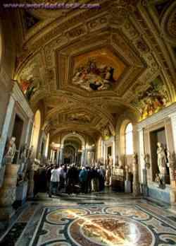 Musei Vaticani - Galleria dei Candelabri