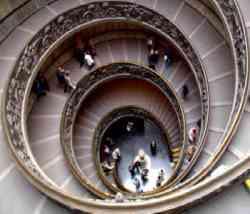Scalone dei Musei Vaticani