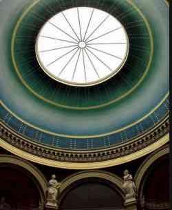 Alte Nationalgalerie Berlino- Cupola ingresso