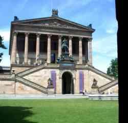 Alte Nationalgalerie Berlino- Esterno