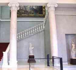 Alte Nationalgalerie Berlino - scala interna
