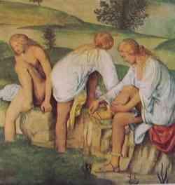 Sala XIII - Fanciulle al bagno 1520: Bernardino Luini
