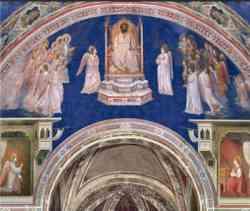 Cappella degli Scrovegni - Arco trionfale
