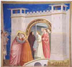 Cappella degli Scrovegni - Gioacchino e Anna alla porta d'oro