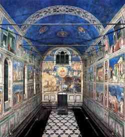 Interno della Cappella degli Scrovegni - Padova