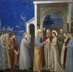 Cappella degli Scrovegni - Matrimonio della Vergine