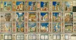 Parete sud della Cappella degli Scrovegni - Padova