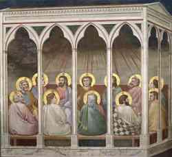 Cappella degli Scrovegni - Le Pentecoste