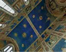 Soffitto della Cappella degli Scrovegni - Padova