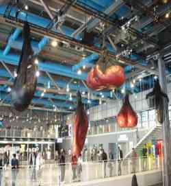 Museo Pompidou.Museo Centre Pompidou Parigi Settemuse It