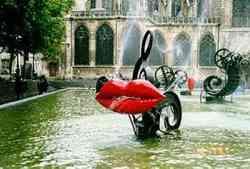 Museo Centre Pompidou Parigi- Fontaine des automates