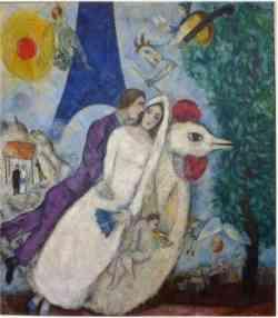 Museo Centre Pompidou Parigi- Marc Chagall