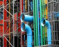 Museo Centre Pompidou Parigi - il senso del colore