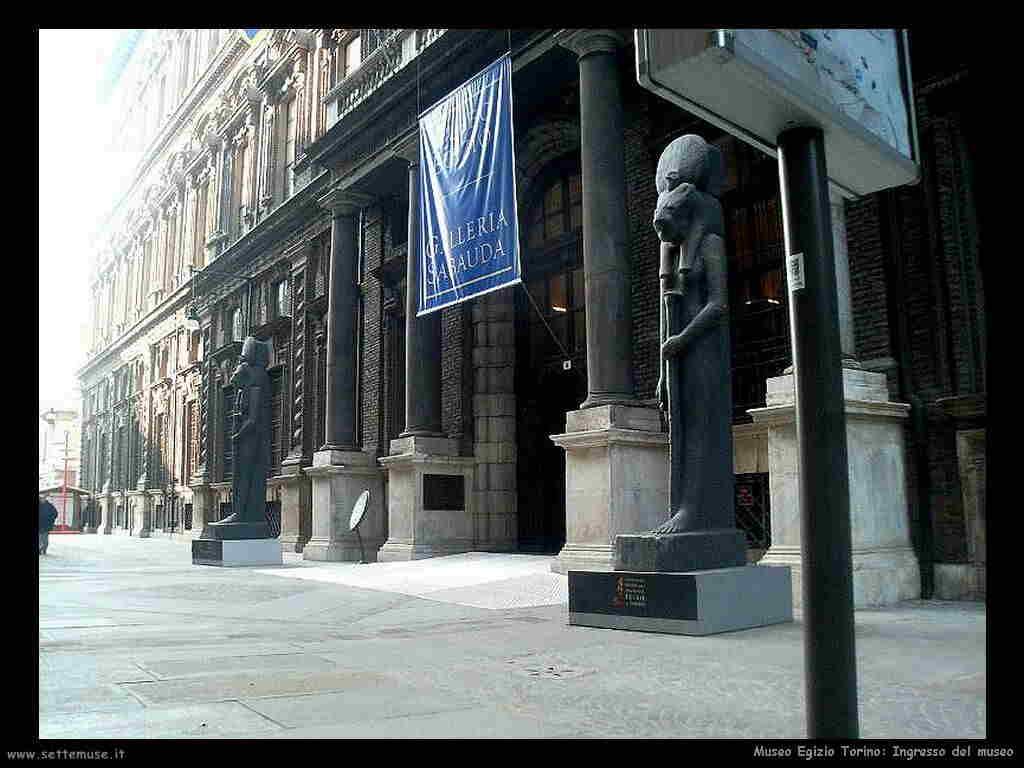 Ingresso museo egizio Torino