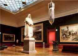 Galleria Nazionale Arte Moderna Roma - Salone Giordano Bruno