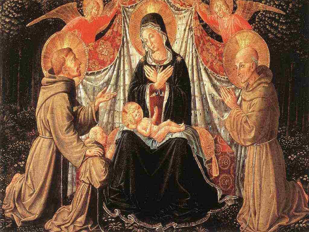 Madonna e santi - Benozzo 1452