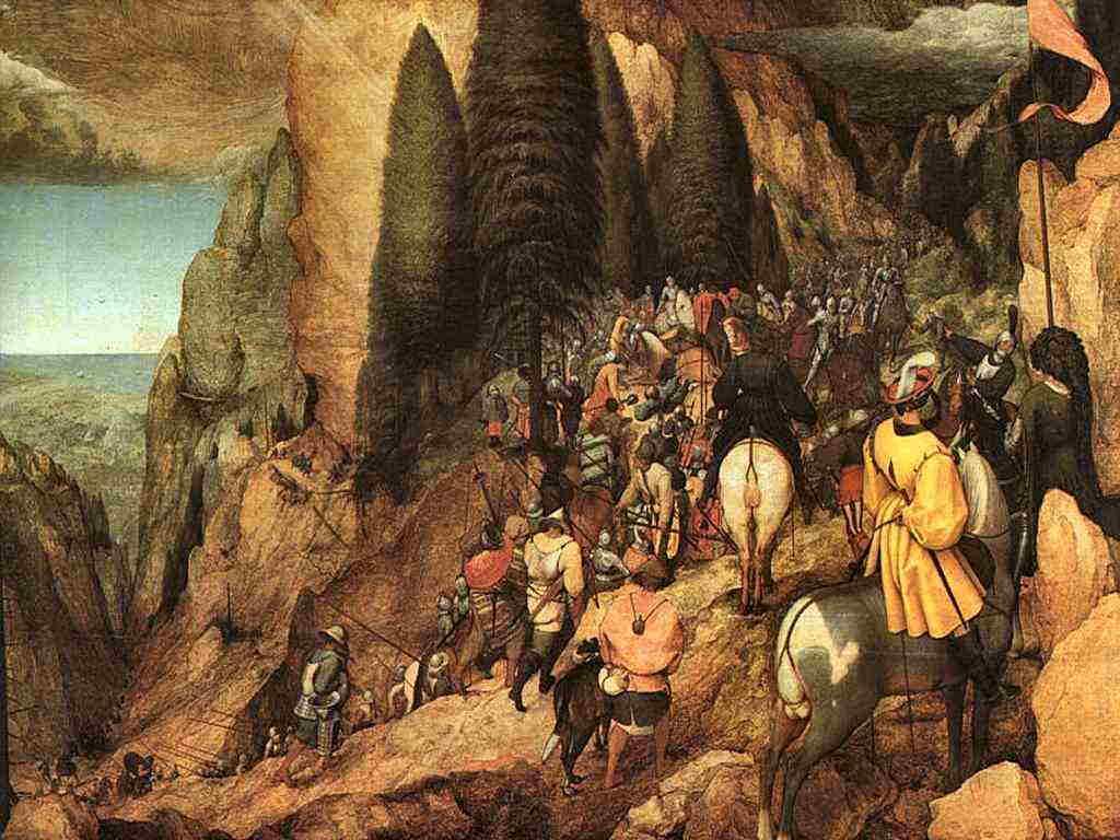Conversione di San Paolo Brueghel