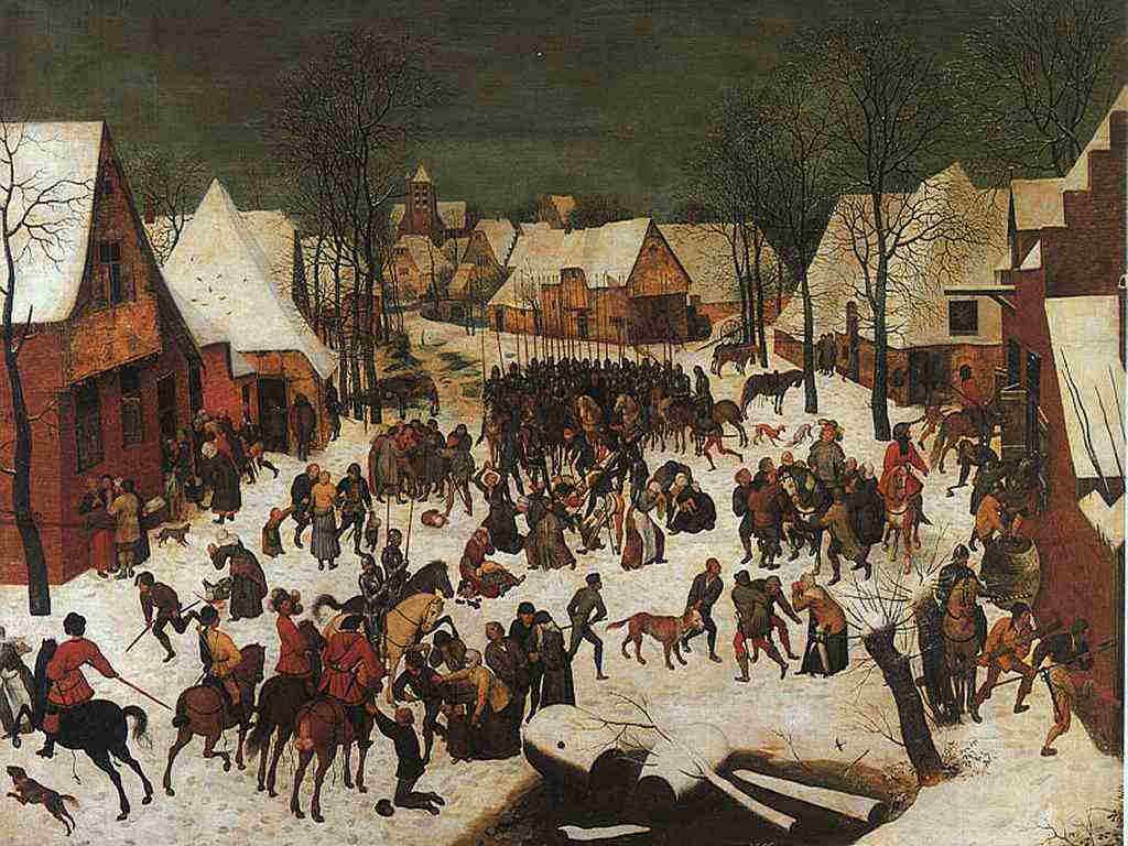 Strage degli innocenti - Brueghel