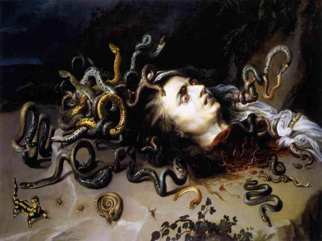 Rubens - Testa di Medusa
