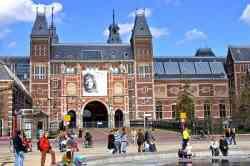Esterno del Rijksmuseum Amsterdam