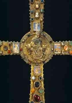 Museo Santa Giulia Brescia - Croce di re Desiderio