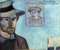 Museo di  Van Gogh - Autoritratto con ritratto di Gauguin