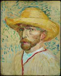 Museo di  Van Gogh - Autoritratto