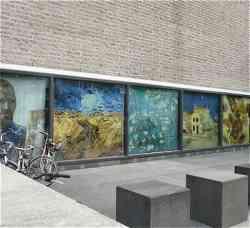 Interno del Museo di Van Gogh Amsterdam