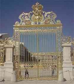 Il Cancello d'ingresso al Palazzo di Versailles
