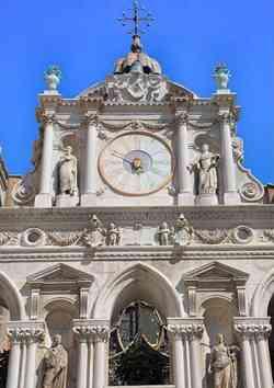 Venezia - Palazzo Ducale - Arco Foscari
