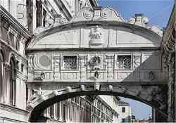 Venezia - Palazzo Ducale - Il Ponte dei sospiri