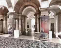 Londra - Ingresso della Tate Britain