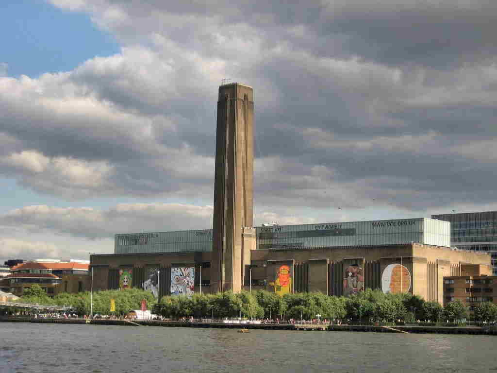 Londra - Esterno della Tate Gallery