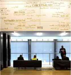 Londra - Tate Gallery - quarto Piano