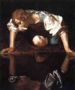 Narciso - Quadro del Caravaggio