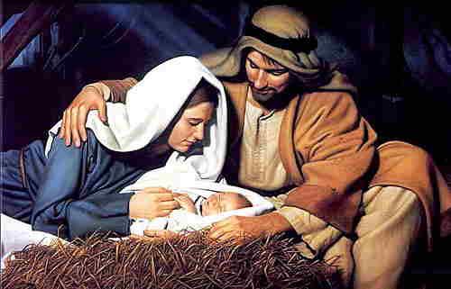 Giuseppe Maria e Bambin Gesù natività