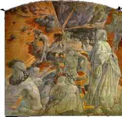 Arca di Noè Affresco di Paolo Uccello