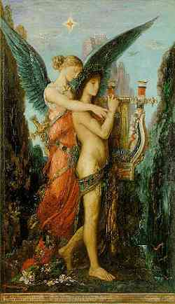 Orfeo e Euridice - Dipinto di Gustave Moreau