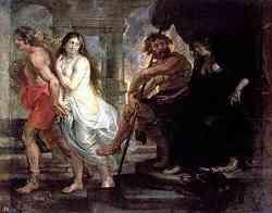 Orfeo e Euridice - Quadro di Rubens