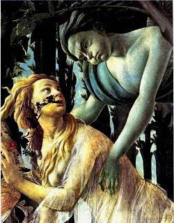 Il ratto di Proserpina  - Botticelli