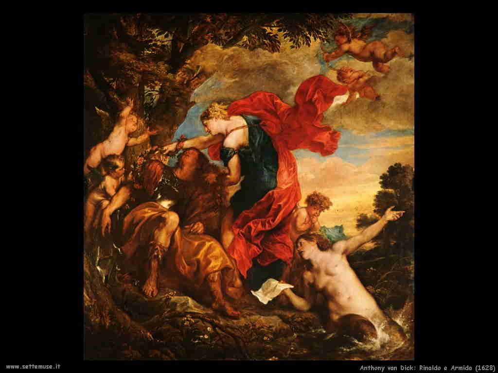 Anthony van Dyck Rinaldo e Armida 1628