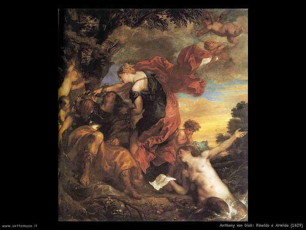 Anthony van Dyck Rinaldo e Armida 1629