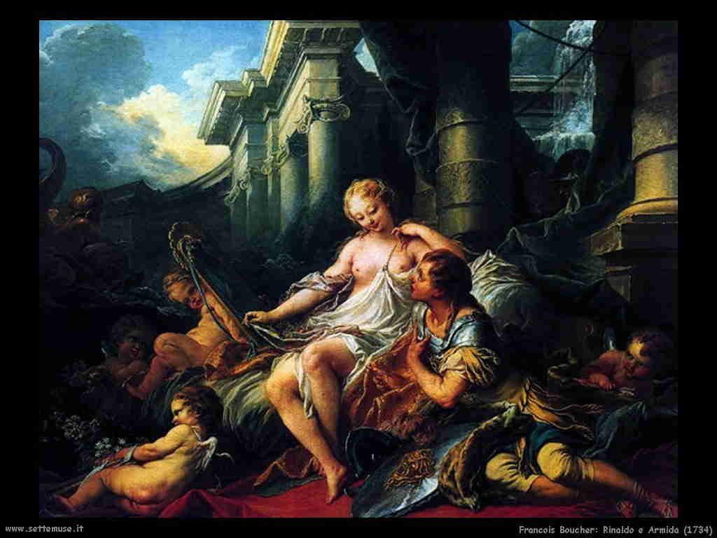 Francois Boucher - Rinaldo e Armida 1734