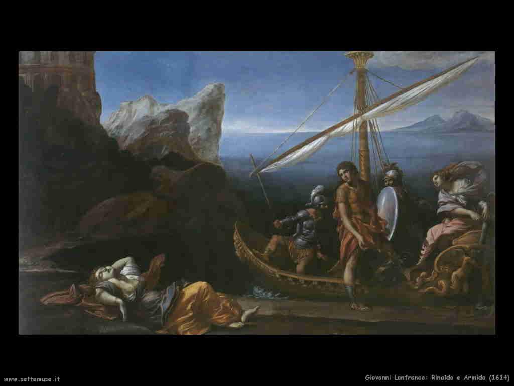 Giovanni Lanfranco - Rinaldo e Armida 1614