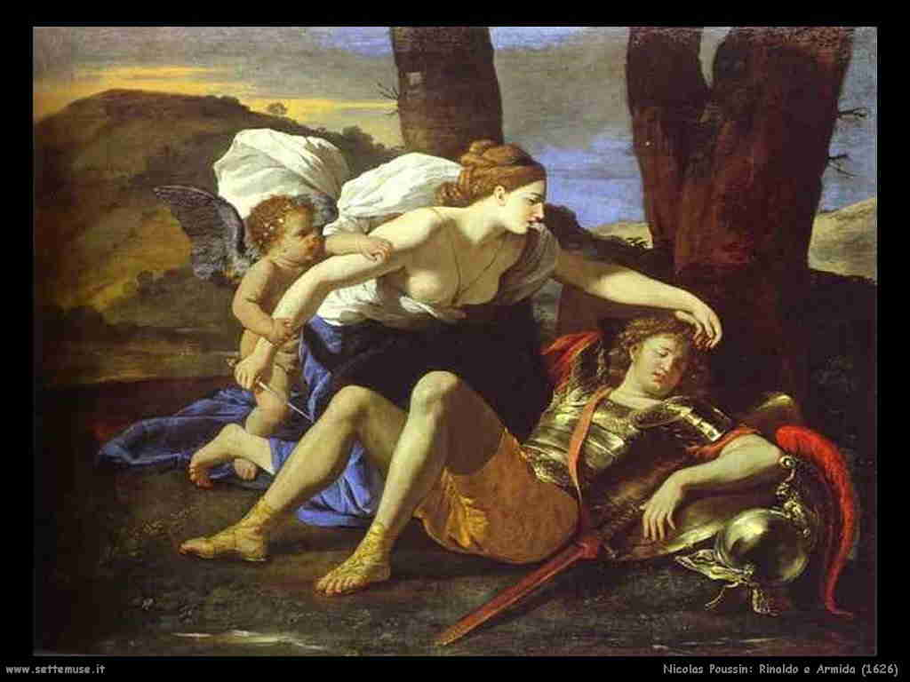 Nicola Poussin - Rinaldo e Armida 1626