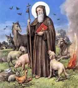 Storia di Sant'Antonio Abate
